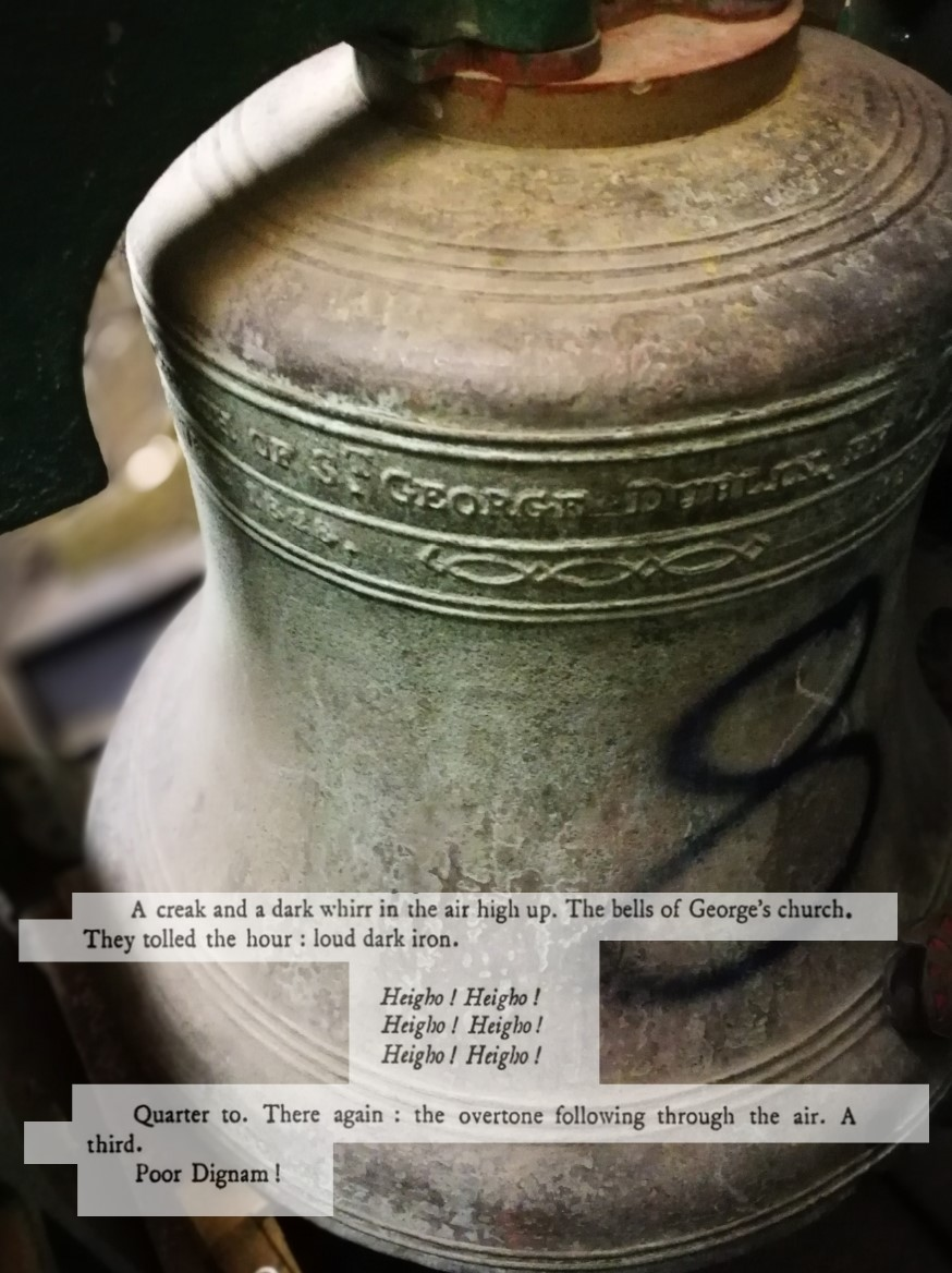 #Bell of St George Siobhan Clancy
